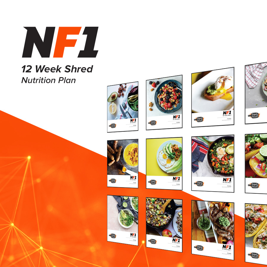 NF1 12 Week Shred Nutrition Plan