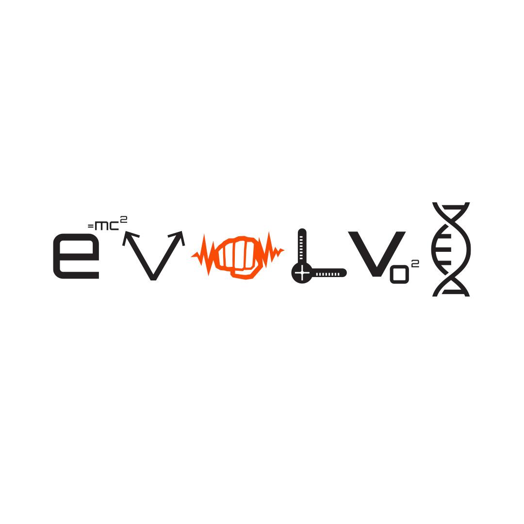 Evolve Symbols White T